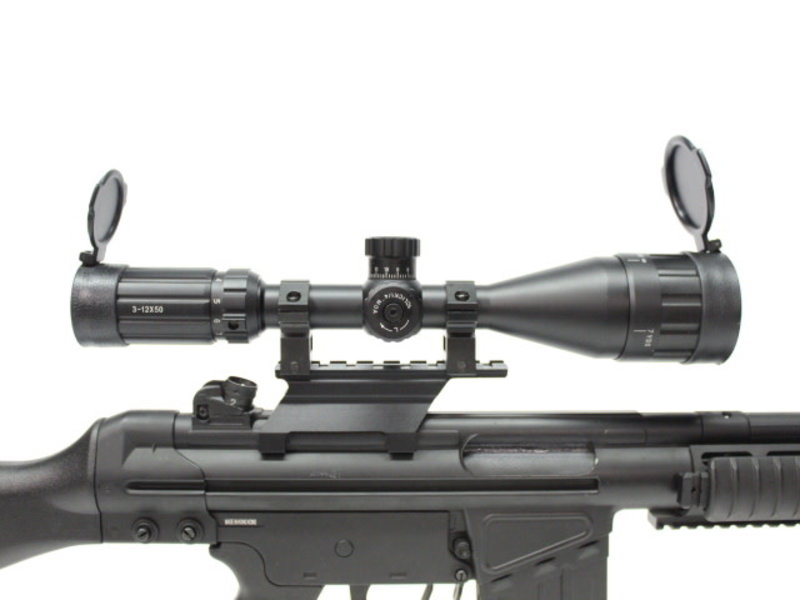 Aimsports AImsports Raptor 3-12X50mm AO target scope with