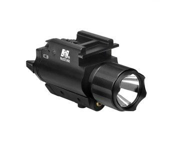 NC Star 200 Lumen FlashLight & Green Laser QD Mount