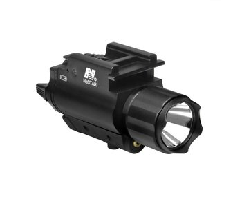 NC Star 3W 120 Lumen FlashLight & Red Laser QD Mount
