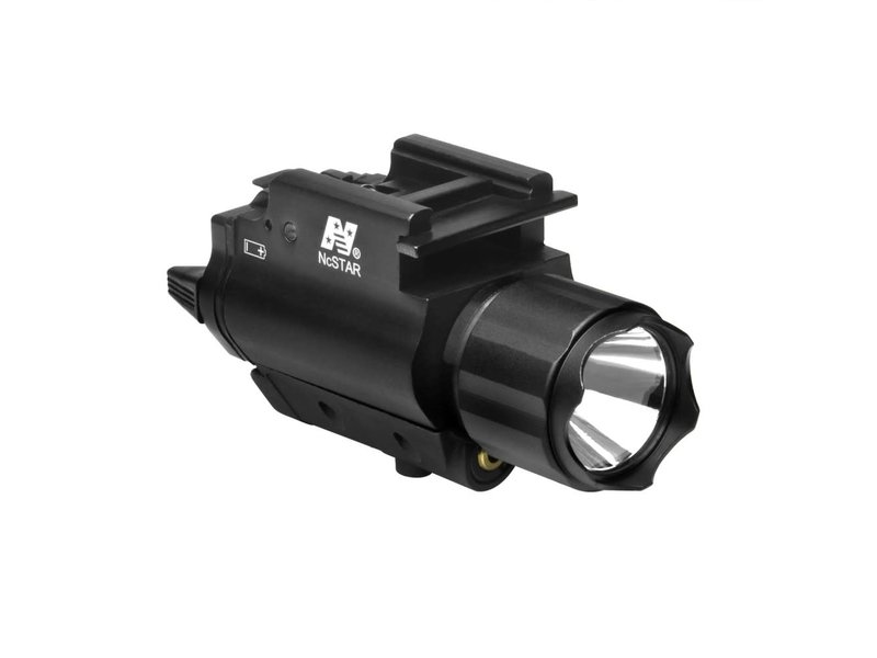 NC Star NC Star 200 Lumen FlashLight & Green Laser QD Mount