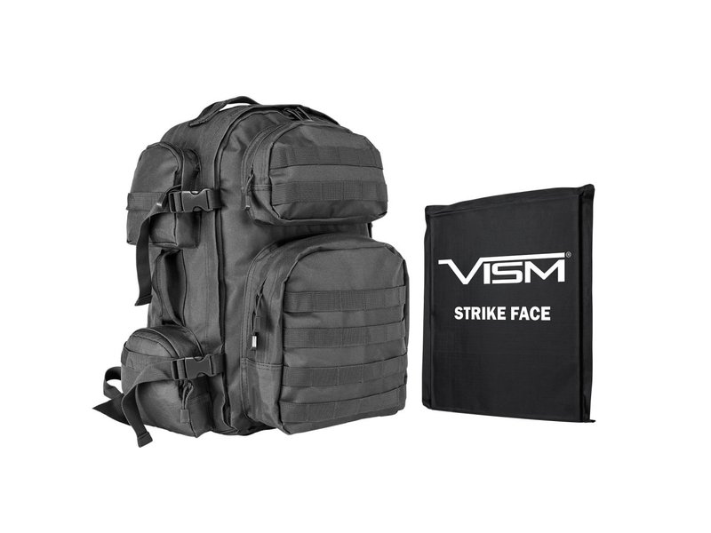 "NC Star NC Star VISM Tactical Backpack w/ 10""X12"" IIIA Soft Panel"