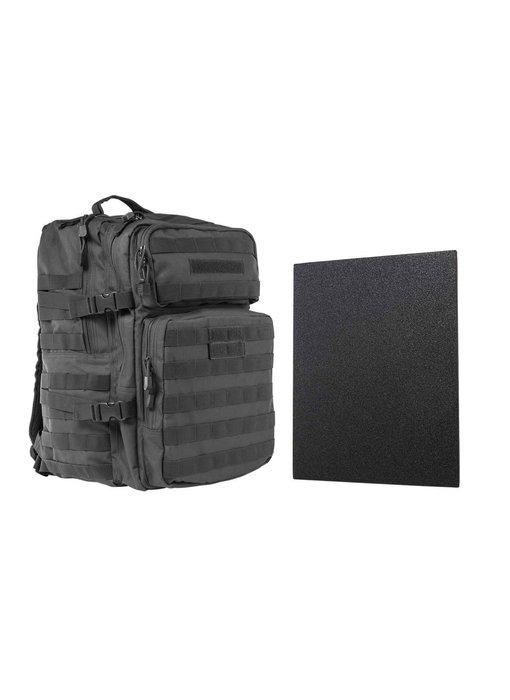 NC Star VISM Assault Pack with Level IIIA Hard Ballistic Plate Urban