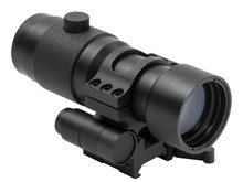 NcStar NcStar 3X Magnifier with 30MM Flip to Side QR Mount