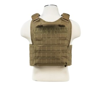 NC Star Plate Carrier Vest Tan