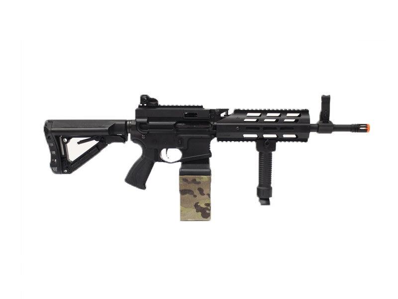 G&G G&G CM16 Raider Light Machine Gun AEG Black