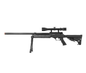 Well MB13 APS SR2 Rifle w/Scope+Bipod Black