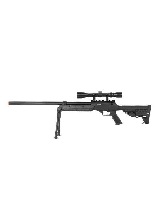 Well MB13 APS SR2 Rifle w/Scope+Bipod Black