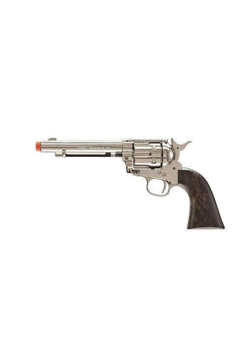 Umarex Elite Force Legends Smokewagon 6-Shot CO2 Revolver, Nickel