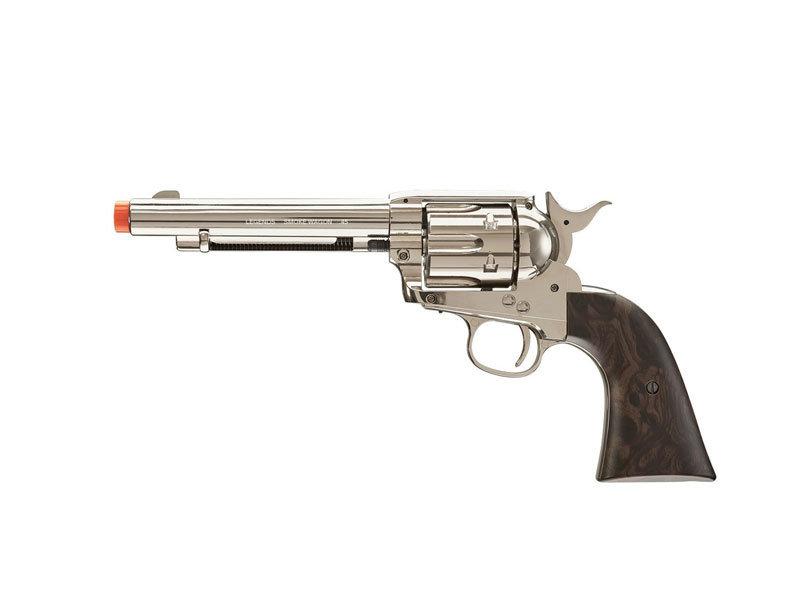 Elite Force Umarex Elite Force Legends Smokewagon 6-Shot CO2 Revolver, Nickel