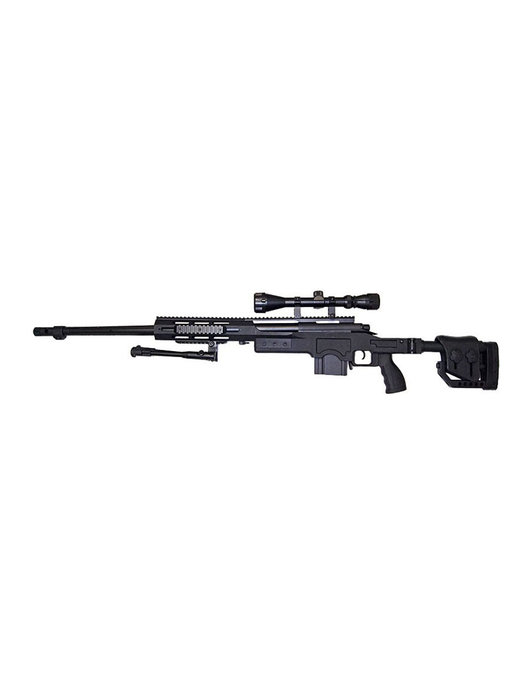 Well MB4411 M24 Mono w/ Scope+Bipod Black