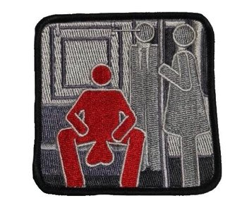 Tactical Outfitters Manspreading Morale Patch