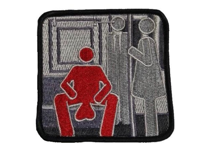 Tactical Outfitters Tactical Outfitters Manspreading Morale Patch