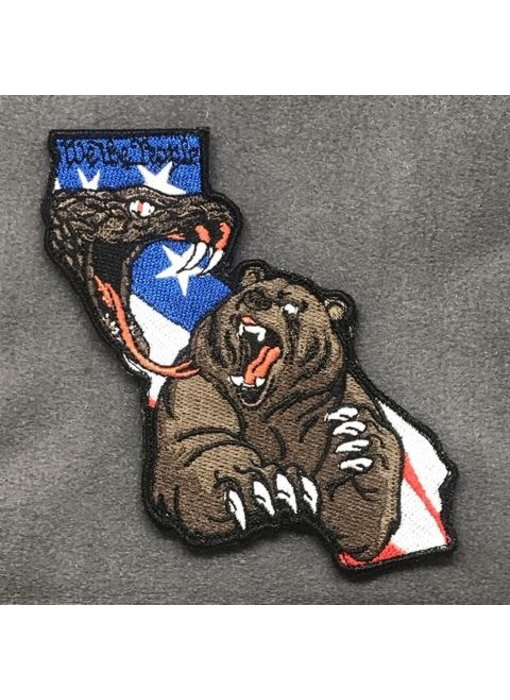 Tactical Outfitters Behind Enemy Lines (California) Morale Patch