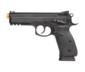 ASG CZ SP01 Shadow Spring Pistol, Black