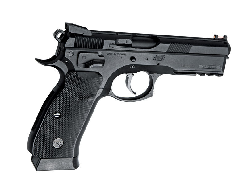 ASG ASG CZ SP01 Shadow Spring Pistol, Black
