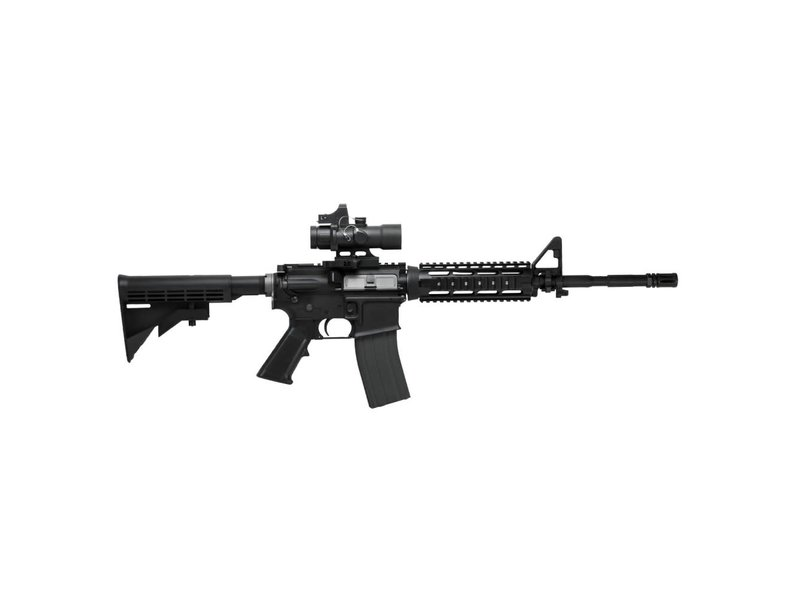 NcStar NC Star Compact Prismatic 3.5x32mm Illuminated Scope with Red Dot Sight