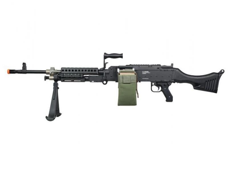 A&K A&K M240B AEG w/ Box Magazine