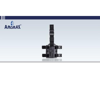 Ammomax Drop Leg Platform Black