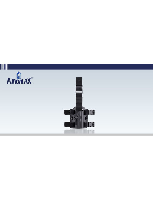 Amomax Drop Leg Platform, Black
