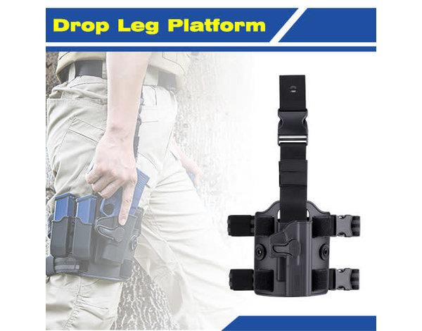 Amomax Amomax Drop Leg Platform, Flat Dark Earth
