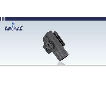 Amomax Hard Shell Holster Glock RH Blk