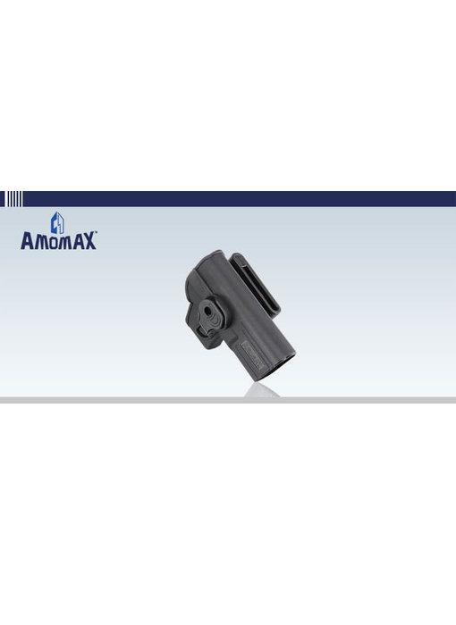 Amomax Hardshell Holster, Glock (TM/KJ/WE/EF), Black, Right Hand
