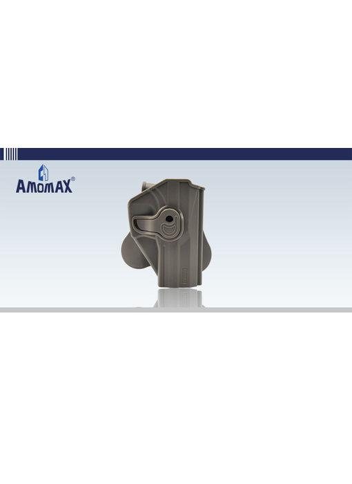 Amomax Hardshell holster, USP and USP Compact, FDE, RH