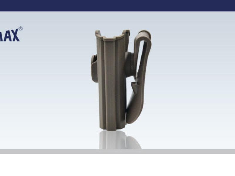 Amomax Amomax Hardshell holster, USP and USP Compact, FDE, RH