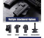 Amomax Amomax Hardshell Holster, Glock (TM/KJ/WE/EF), FDE, RH