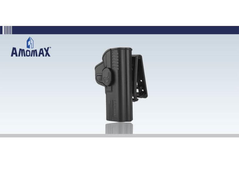 Amomax Amomax Hardshell Holster, M&P, Black, RH