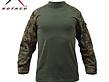 Rothco Rothco Combat Shirt, Woodland Digital