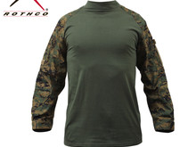 Rothco Rothco Combat Shirt, Woodland Digital