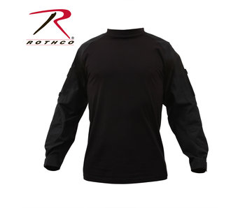 Rothco Combat Shirt, Black