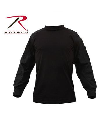 Rothco Rothco Combat Shirt, Black