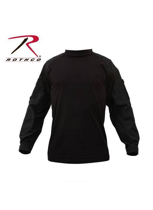 Rothco Combat Shirt, Black