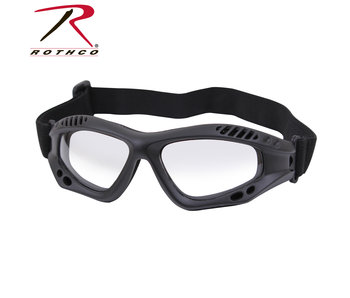 Rothco Low Profile Tactical Goggles, ANSI rated lens