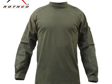 Rothco Rothco Combat Shirt, Olive Drab