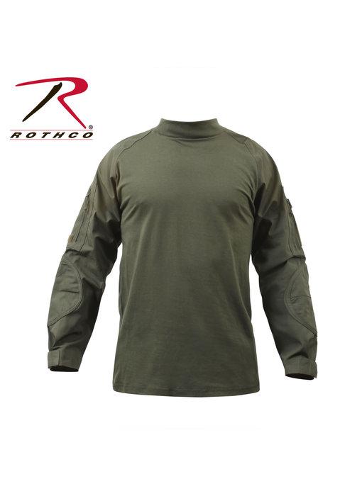 Rothco Combat Shirt, Olive Drab