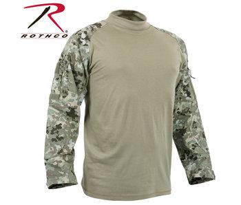 Rothco Combat Shirt, Total Terrain  Camo