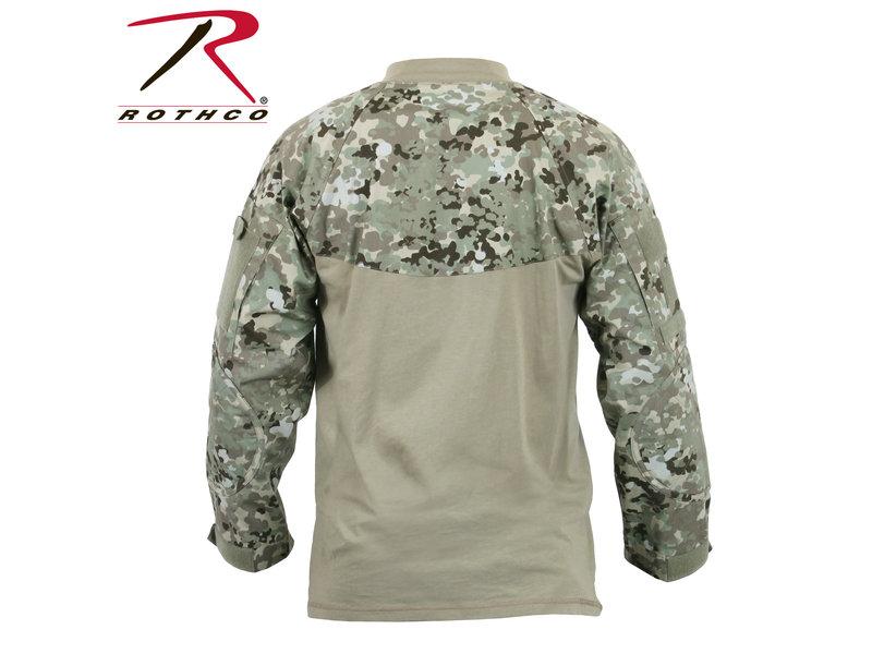 Rothco Rothco Combat Shirt, Total Terrain  Camo