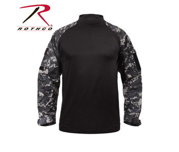 Rothco Combat Shirt, Subdued Urban Digital Camo