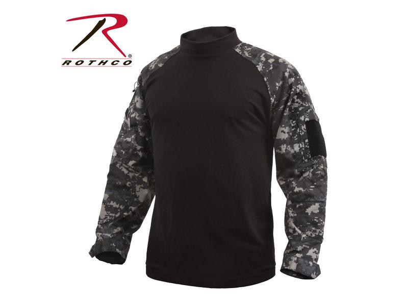 Rothco Rothco Combat Shirt, Subdued Urban Digital Camo