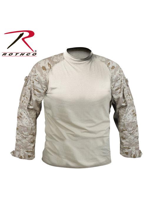 Rothco Combat Shirt, Desert Digital Camo