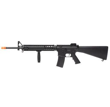 A&K A&K M16A4 M16-A4 SPR NS15 AEG Rifle Black