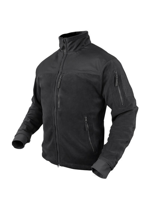 Condor Alpha Fleece Jacket Black Small
