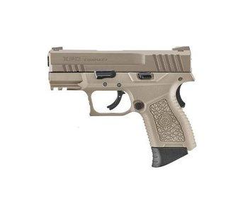 XPD gas blowback pistol, tan