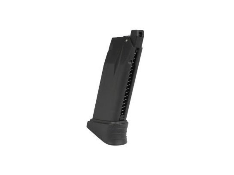 ICS XPD 17 rd magazine with finger extension, black
