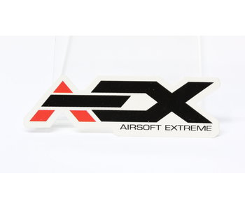 AEX Sticker 4'' White