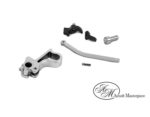 Airsoft Masterpiece Airsoft Masterpiece CNC Steel Hammer & Sear Set for Marui Hi CAPA (Infinity Commander)