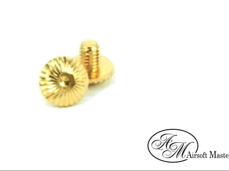 Airsoft Masterpiece Airsoft Masterpiece Infinity Grip Screw Ver2 Hi Capa Gold